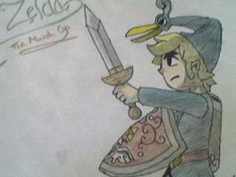 the legend of zelda:minish cap by fireballflame