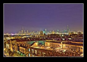 Chicago At Night - HDR by rpieratt