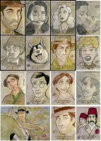 Indiana Jones Masterpieces by taeha