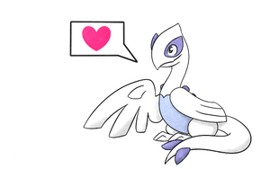 Another Baby Legendary - Lugia by Shira13
