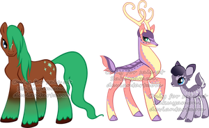 My little deer Adoptables2 by Sakuyamon