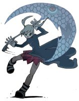 Maka with Witch Hunter: color by Hero-Jaxx