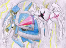 GUARDIAN ALLIN VS GALACTA KNIGHT by SamuraiKnight