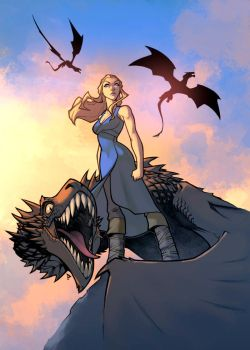 Daenerys Color by logicfun
