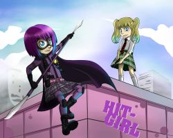hit girl by ren-danny