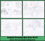 Animal Crossing Sim Date W.I.P. by EllyGirl2809