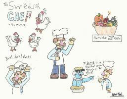 The Muppets: The Swedish Chef by Mr-R0bby-R0b