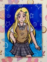 ACEO Gift: Shiou Touma by Magical-Mama