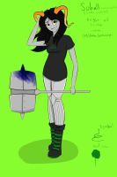Homestuck oc Sohall Furter by MissRedMoon1