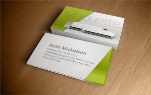 Business Cards for Silhouette (Indi. Distributor) by pomeroyjoshua