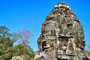 Bayon Faces 5 by CitizenFresh