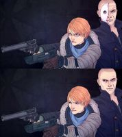 Resident Evil 6 - Jake and Sherry - for Cryaotic by Naimly