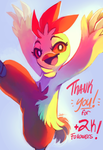 Thank you! by MusicalCombusken