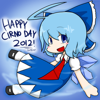 Cirno Day 2012 by RayXDGreatX