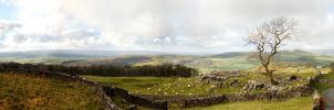 Yorkshire Panorama by Sato-photography