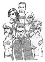 Teen Titans: Next Generation by BillWalko