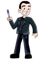 Doctor Eccleston by Airy-F