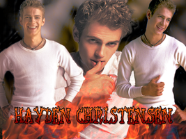 Hayden Christensen-Wallpaper by Alexya16