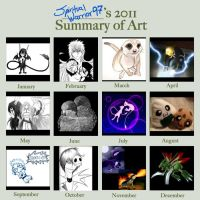 Art Summary of 2011 -most is crap- by XSpiritWarriorX