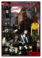 Resident Evil 3 Poster by Jacob-R-Goulden