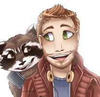 star lord by Kazia-Kat