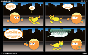 CC144 - Go Fetch by simpleCOMICS