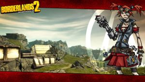 Borderlands 2 Wallpaper - Mechromancer Landscape by mentalmars