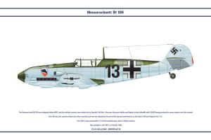 Bf 109 E-3 JG52 2 by WS-Clave