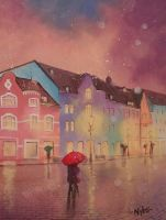 my town in colours by Luckyten