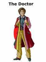 The Sixth Doctor by Mr-Saxon