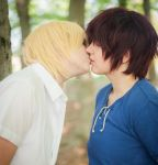 I'll endure the sun if I can kiss you by Naricie