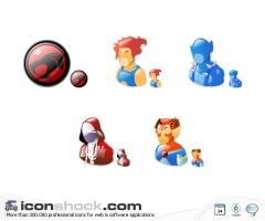 ThunderCats vista icons by Iconshock