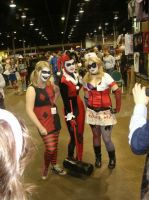 Group Of Harley Quinn by Nekomini09
