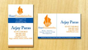 Heart Business Card by chuletz