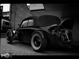 vw street rod rear by hugosilva