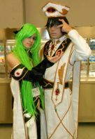 Emperor Lelouch and Empress C.C. by blossomgeisha