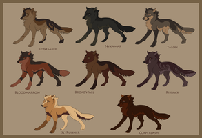 Nykamar's pack chart by DawnFrost