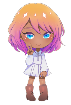Heather: Chibi 4 by fayntcommissions