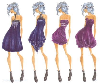 Urban Fantasy 2 - Cocktail Dresses by Miss-Bow