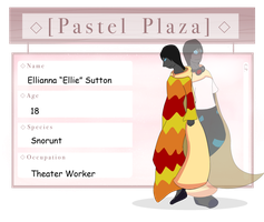 Pastel Plaza | Ellianna Sutton by Wolven-bane