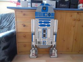 LEGO  R2D2 by ProfMadness