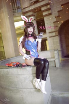 D.Va: Bunny edition! (003) by Solucsia