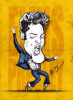 Elvis Presley - Caricature by libran005