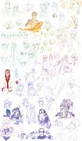 Summer '10 -SKETCHDUMP- by Deus-Nocte