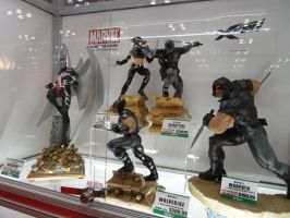 Kotobukiya X-Force Statues by nx20