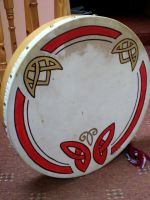 Celtic Bodhran by SaphireSpirals