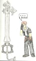 Spoony's keyblade? by Cyber-Zacon