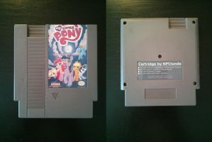 MLP Dr. Discord's Conquest NES game 100% new parts by NPCtendo