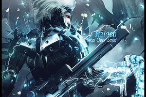 Raiden Metal Gear Solid signature. by Arcaste