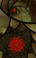 Stained Glass Oranges by SuicideBySafetyPin